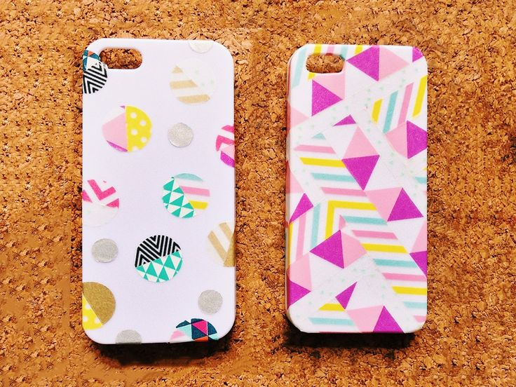iPhone case washi tape 3