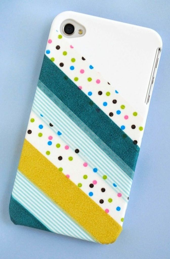 iPhone case washi tape 5